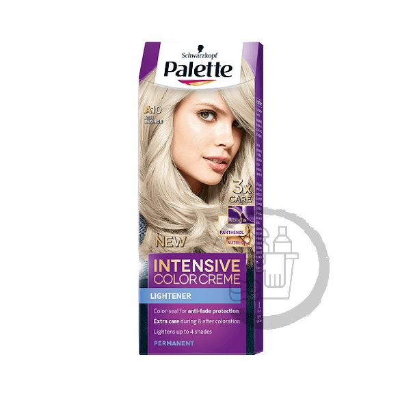 Palette hajfesték Intensive Color Creme 2x50ml (Ash blonde) 10-2 A10
