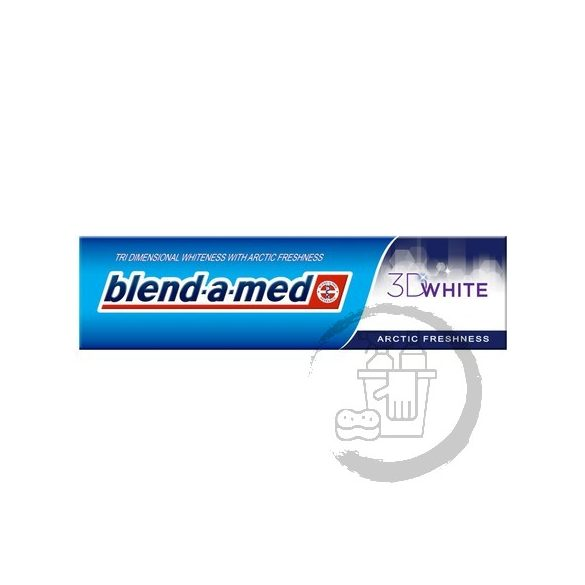 Blend-a-med fogkrém 100ml 3D White fresh Arctic freshness