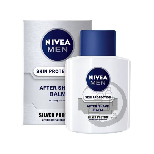 Nivea after shave balzsam 100ml Skin protection Silver protect