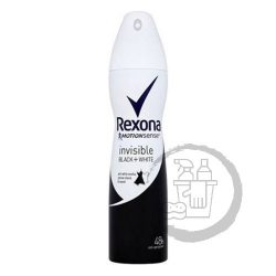 Rexona dezodor 150ml Invisible black&white