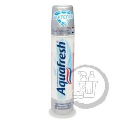 Aquafresh fogkrém pumpás 100ml Whitening