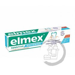 Elmex fogkrém 75ml Sensitive whitening