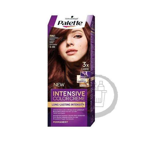 Palette hajfesték Intensive Color Creme 2x50ml (Marsala brown) 6-80 RN5
