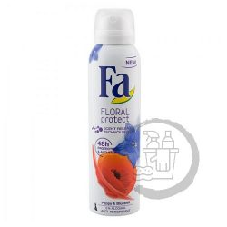 Fa dezodor 150ml Floral protect Poppy & bluebell