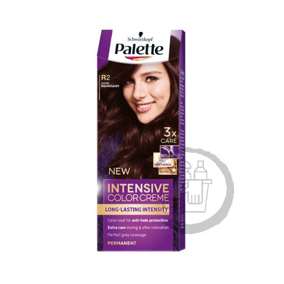 Palette hajfesték Intensive Color Creme 2x50ml (Dark mahogany) 3-68 R2