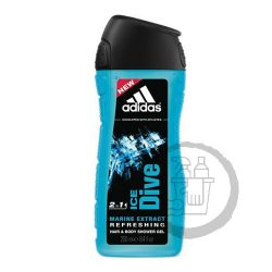 Adidas tusfürdő 250ml Ice Dive