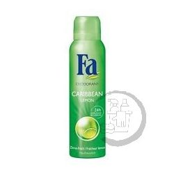 Fa dezodor 150ml Caribean lemon Exotic fresh scent