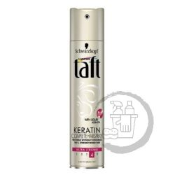 Taft hajlakk 250ml Keratin (4) Ultra strong