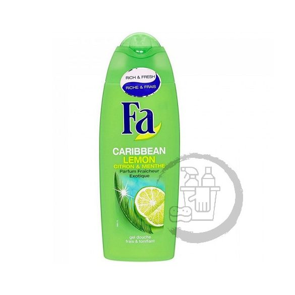Fa tusfürdő 250ml Caribbean lemon Exotic fresh