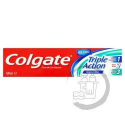 Colgate fogkrém 100ml Triple Action Original Mint