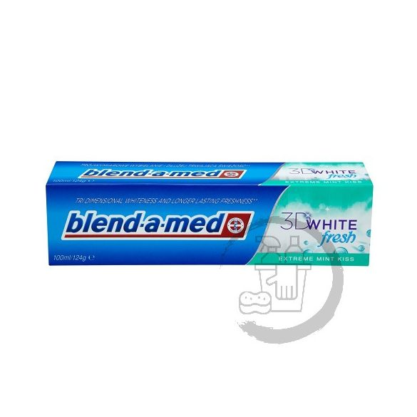 Blend-a-med fogkrém 100ml 3D White fresh Extreme mint kiss