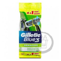 Gillette Blue3 eldobható borotva 5db-os Sensitive